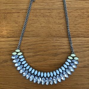 Dry goods beaded necklace